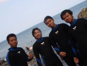 130816伊豆 海洋公園初心者チーム2