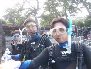 130816伊豆 海洋公園初心者チーム1