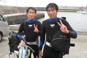 130910伊豆 八幡野体験ダイビング