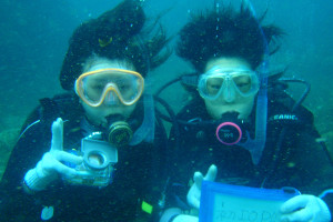 130908伊豆 海洋公園体験ダイビング1
