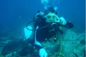 131030伊豆 海洋公園体験ダイビング1