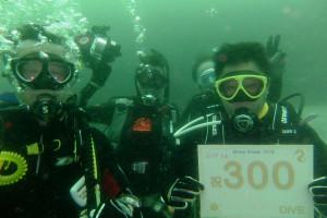 140615伊豆 海洋公園 記念ダイビング