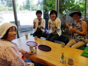 20140714伊豆 富戸 ぐり茶ソフト