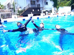 20140729伊豆 海洋公園体験ダイビング1