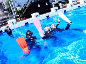20140729伊豆 海洋公園体験ダイビング