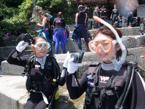 20140729伊豆 海洋公園体験ダイビング4