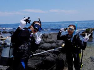 20140729伊豆 海洋公園体験ダイビング3