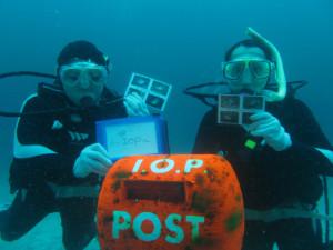 20140721伊豆 海洋公園水中ポスト