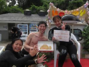 20140721伊豆 海洋公園体験ダイビング1
