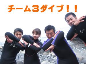 140814伊豆 海洋公園3ダイブ