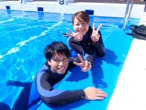 20140822伊豆 体験ダイビング5