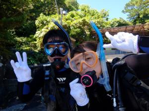 20140822伊豆 体験ダイビング6