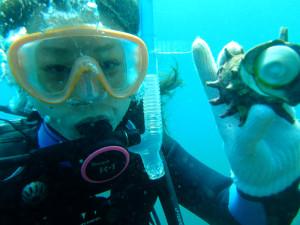 20140822伊豆 体験ダイビング2