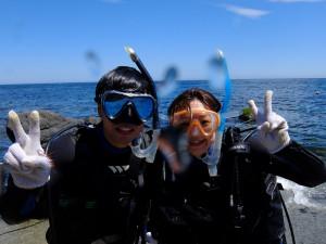 20140822伊豆 体験ダイビング3