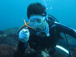 20140921伊豆 ダイビング 伊豆海洋公園 体験ダイビング