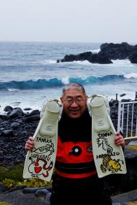 20141211伊豆 ダイビング 伊豆海洋公園 波