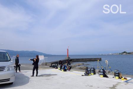 20150412静浦ダイビングサービス