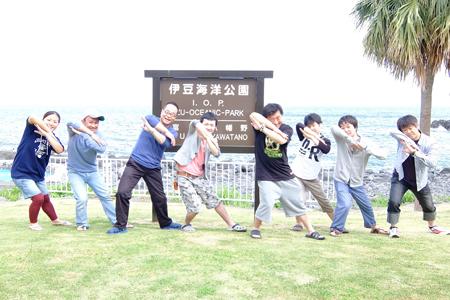 20150504伊豆 ダイビング 伊豆海洋公園集合写真