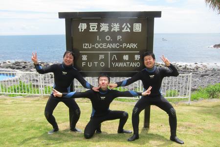 20150504伊豆 体験ダイビング 伊豆海洋公園2