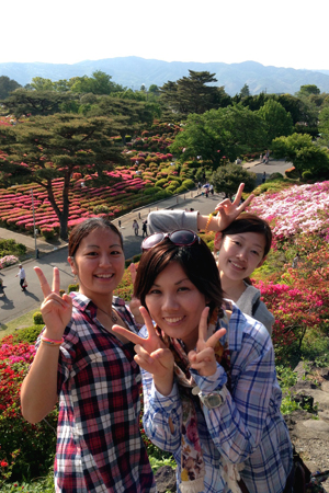 20150503伊豆 小室山つつじ祭り