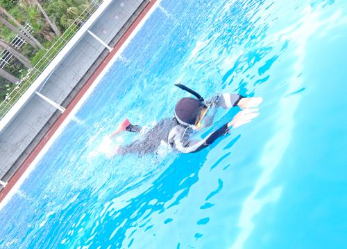 20150622伊豆 ダイビング 伊豆海洋公園 フィンキック講習