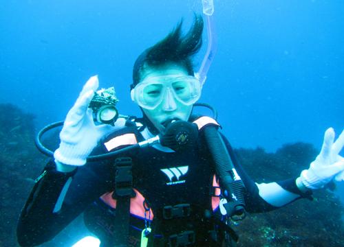 20150705伊豆 ダイビング 伊豆海洋公園 ライセンス講習