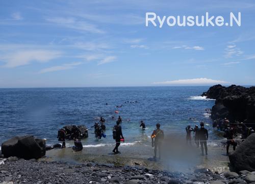 20150725伊豆 ダイビング 伊豆海洋公園