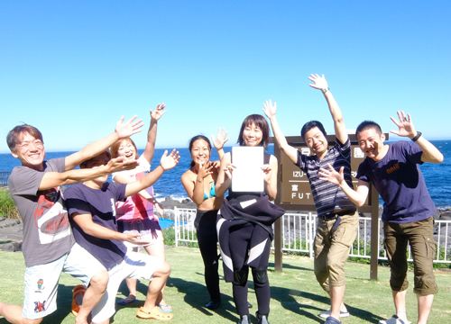 20150721伊豆 ダイビング 伊豆海洋公園 ライセンス取得