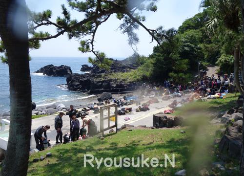 20150726伊豆 ダイビング 伊豆海洋公園 1