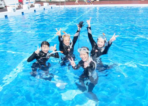 20150816伊豆 体験ダイビング 伊豆海洋公園