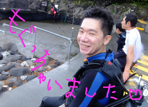 20150813伊豆 体験ダイビング 伊豆海洋公園 (1)