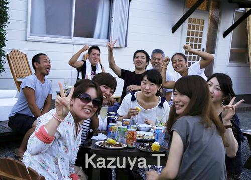 20150816伊豆 ダイビング BBQ1