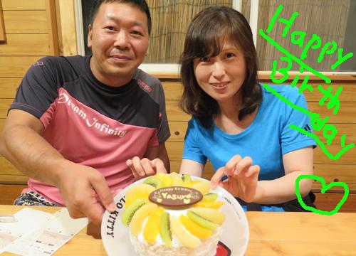 20150920伊豆 ダイビング SOL お誕生日