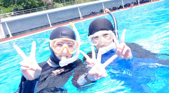 20160507伊豆 体験ダイビング 伊豆海洋公園 1