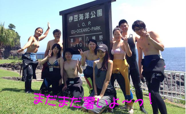 20160904伊豆 ダイビング 伊豆海洋公園 (4)