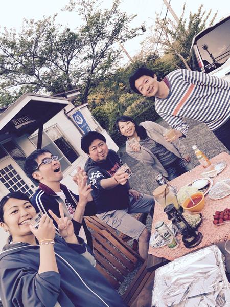 20170501伊豆 ダイビング BBQ2