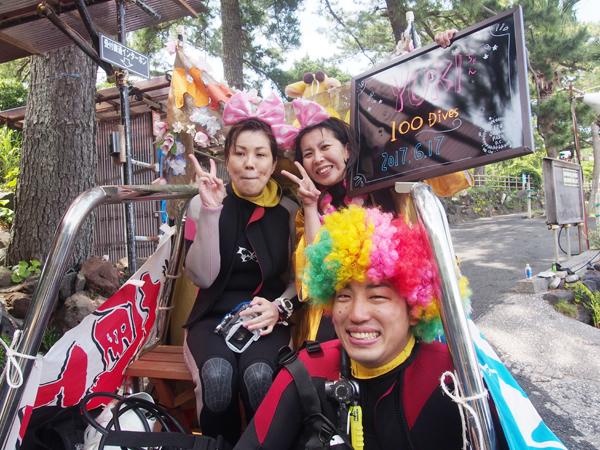 20170617伊豆 ダイビング 伊豆海洋公園BBQ5