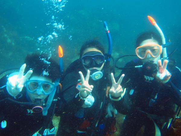20170716伊豆 ダイビング 伊豆海洋公園 体験ダイビング