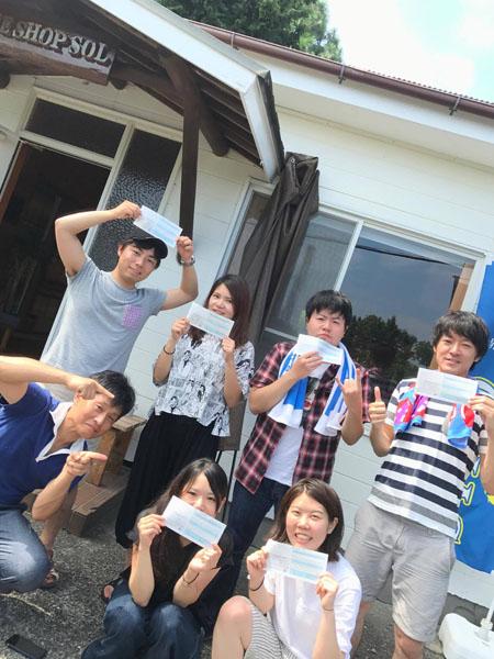 20170813伊豆 ダイビング ライセンス取得