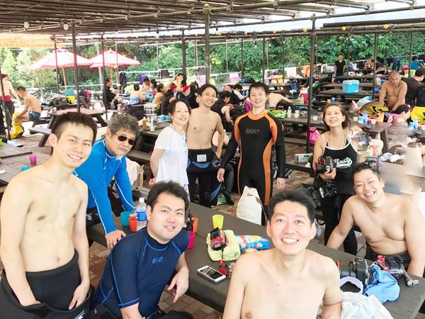 20180827伊豆 ダイビング 伊豆海洋公園