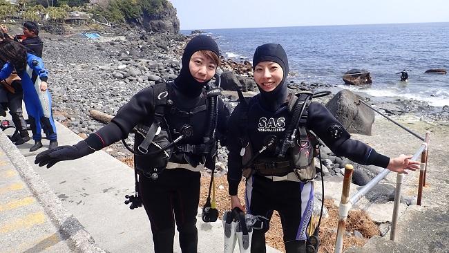 20180331伊豆 ダイビング 伊豆海洋公園