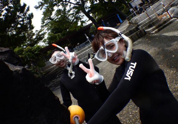 20180720伊豆 体験ダイビング 初心者2