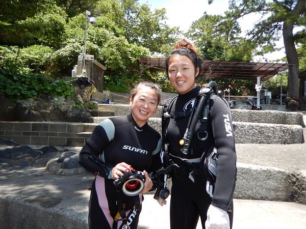20180703伊豆 ダイビング 伊豆海洋公園 体験ダイビング