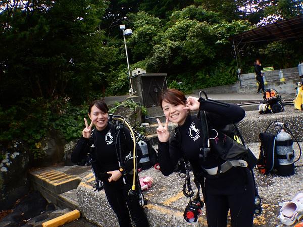 20180717伊豆 ダイビングスクール