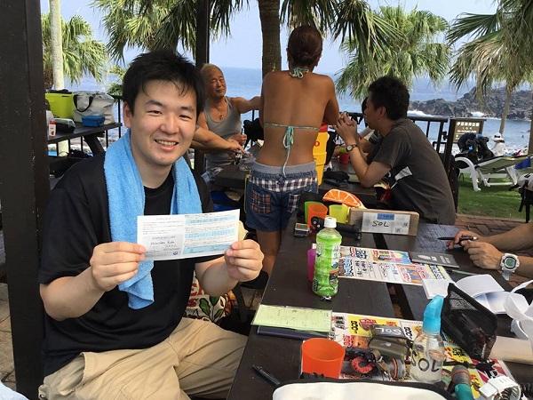 20180804伊豆 ダイビング 伊豆海洋公園 ライセンススクール