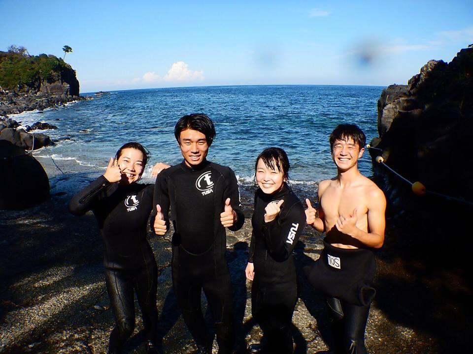 20180827伊豆 ダイビング 伊豆海洋公園 体験ダイビング ダイビングスクール