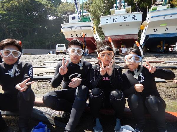 20180809伊豆 ダイビング 富戸 体験ダイビング ダイビングスクール