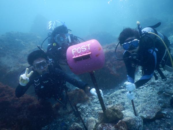 20180811伊豆 体験ダイビング 伊豆海洋公園2