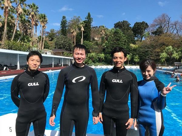 20181006伊豆 ダイビング 伊豆海洋公園 ダイビングスクール