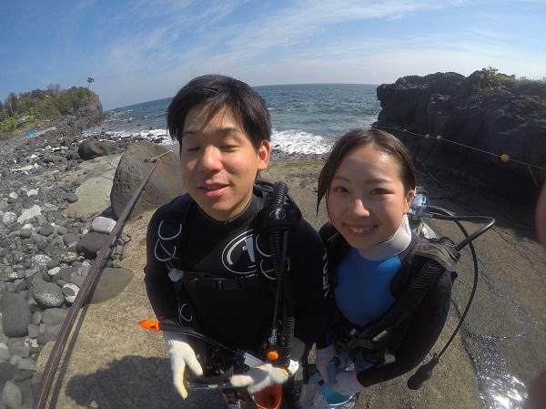 20181010伊豆 ダイビング 伊豆海洋公園 ライセンス講習